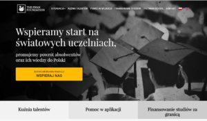Theswanfoundation.pl – Wsparcie w finansowaniu studiów za granicą